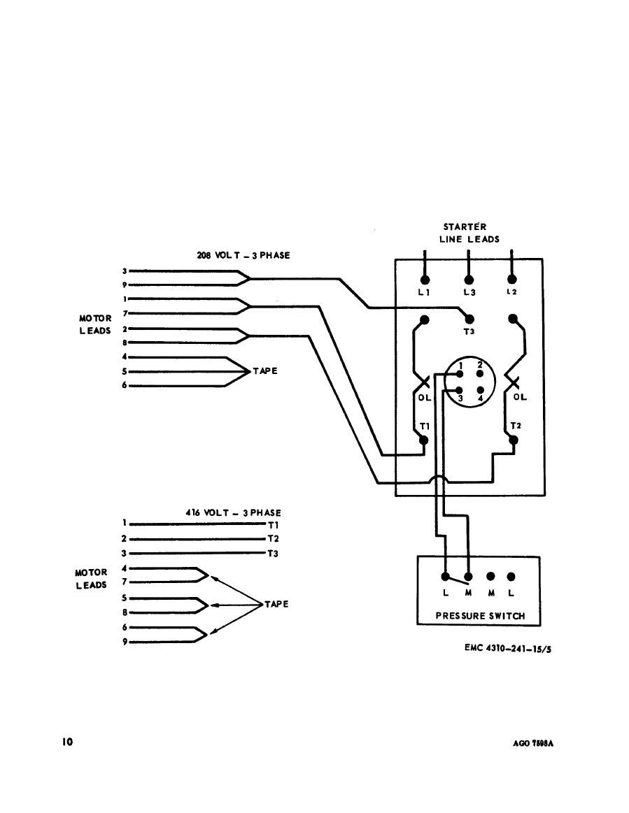 Ch ion Air  pressor Wiring Diagram on air pressor motor starter wiring diagram