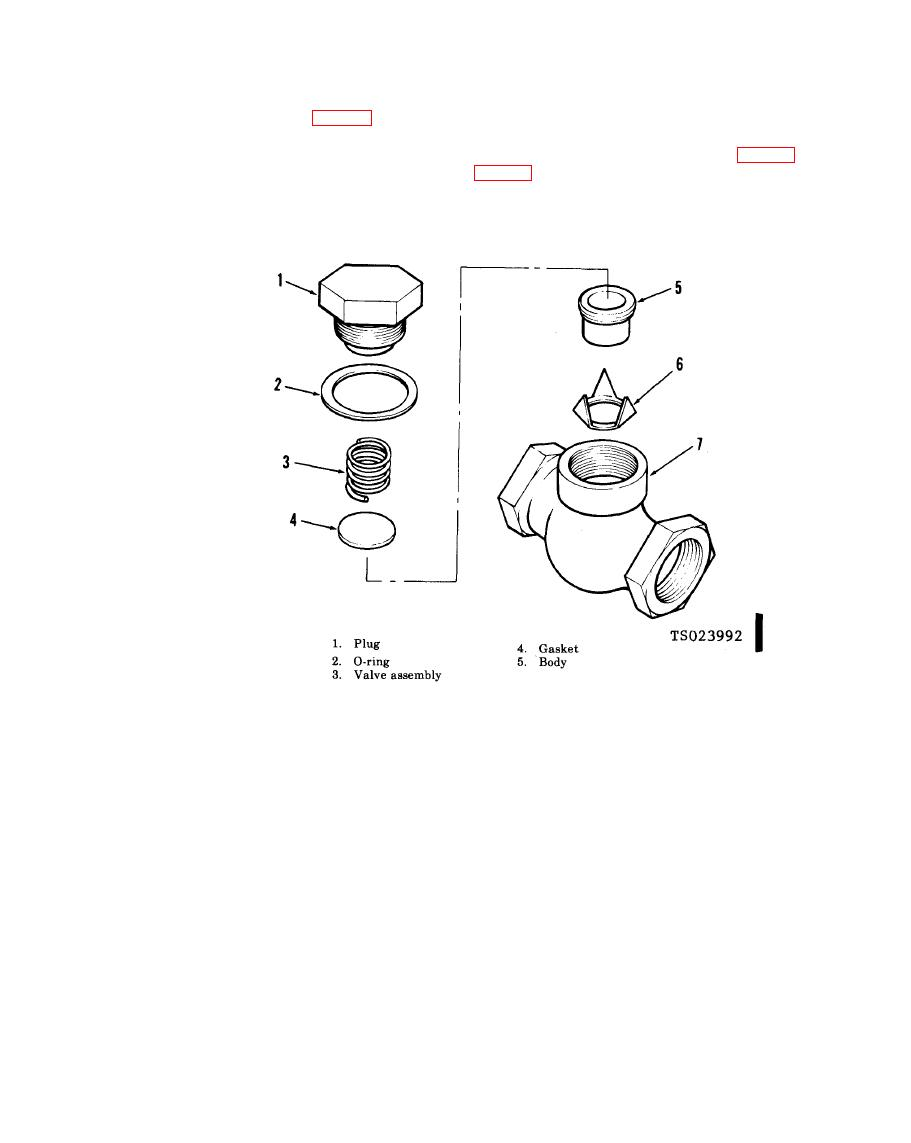 Figure 4 27 1 Check Valve Exploded View