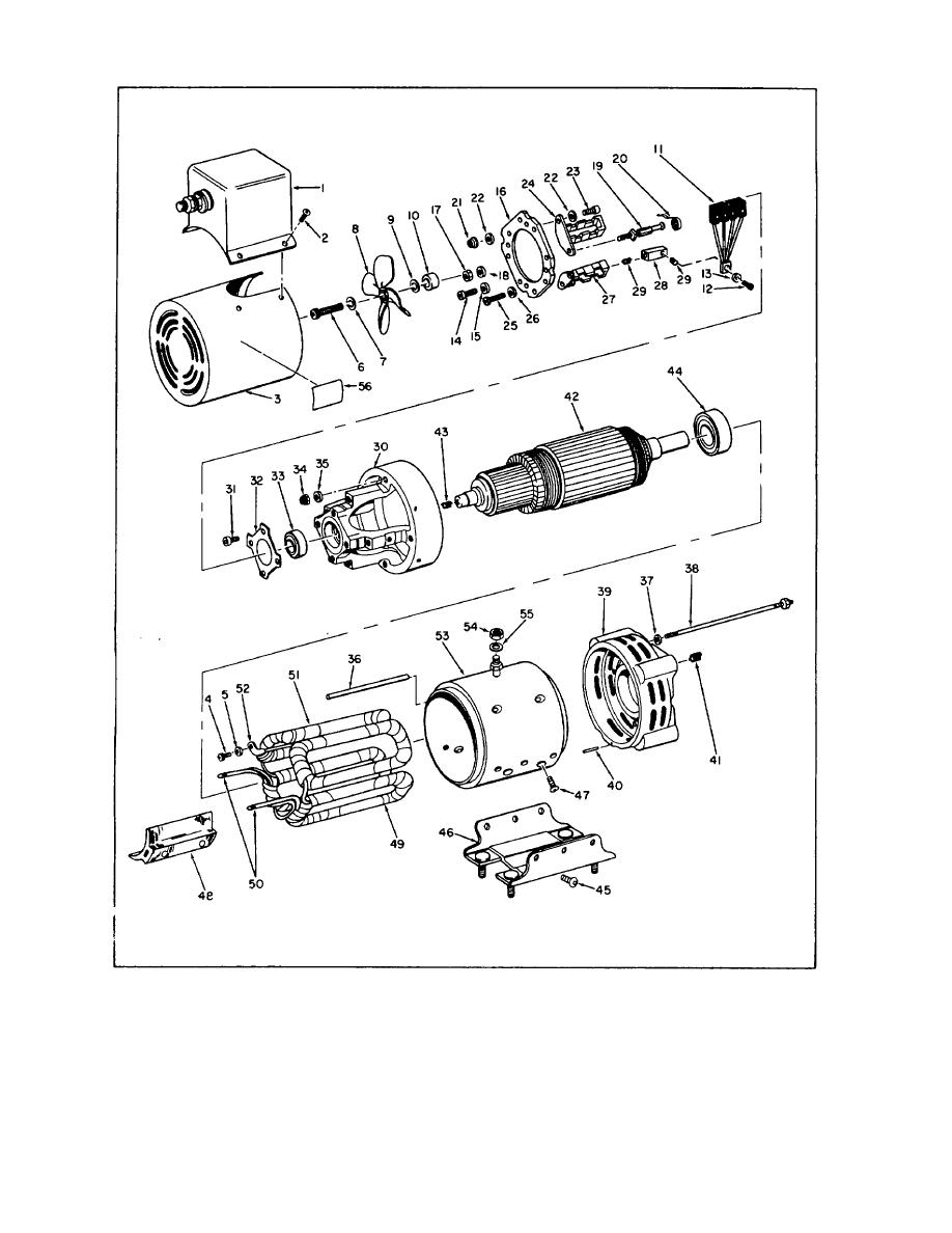 Electric motor exploded diagram gallery how to guide and for Electrical motor controls for integrated systems 4th edition