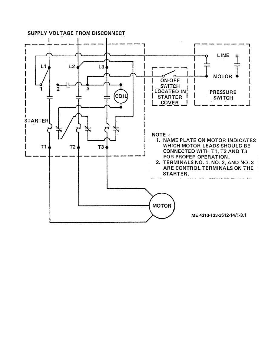 compressor start capacitor wiring diagram compressor wiring tm 5 4310 349 140020im compressor start capacitor wiring diagram