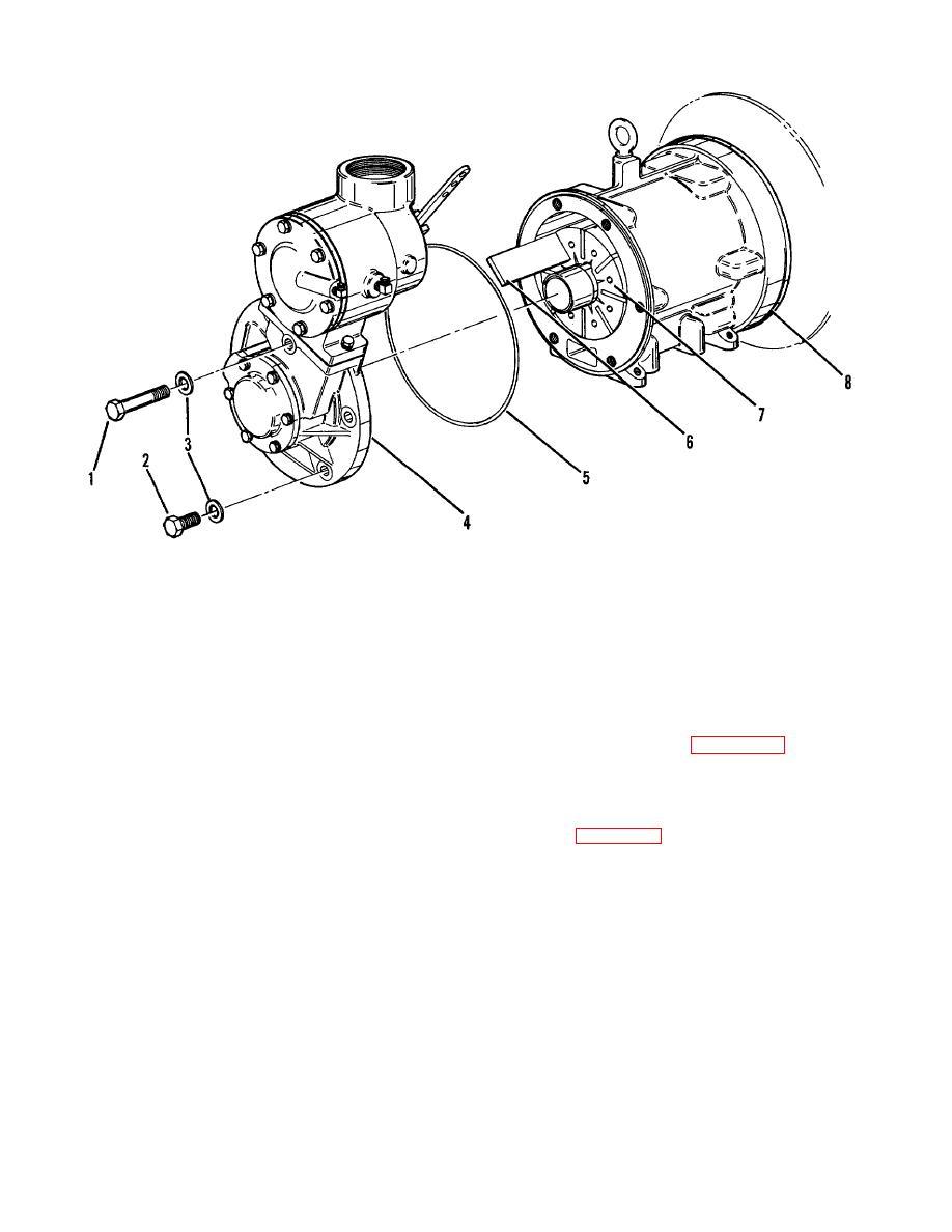 Figure 6 10 compressor non drive end disassembly blade for Drive end and non drive end of motor