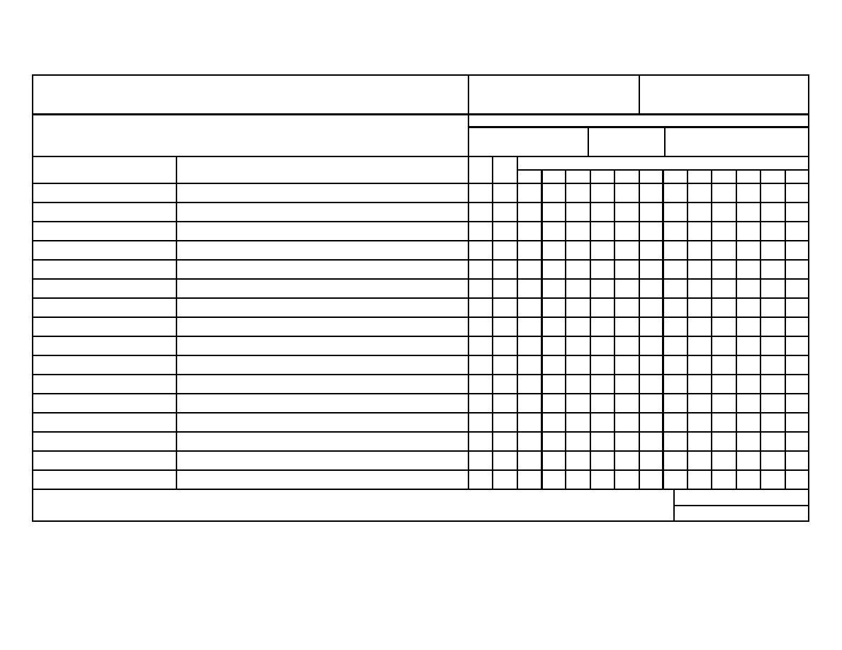 Section II. HAND RECEIPT - TM-5-4310-363-14-HR0004