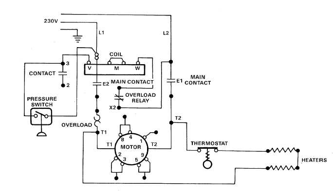 TM 5 4310 384 13_16_2 electric motor controls wiring diagrams (115v) tm 5 4310 384 13_16 electric motor wiring diagram at bayanpartner.co