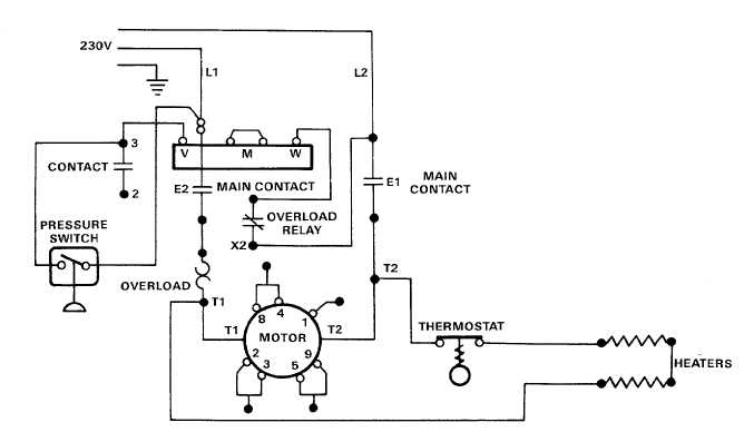 electric motor controls wiring diagrams  115v   u2013 tm