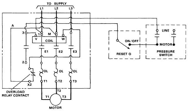 electrical drawing motor starter ireleast info wiring diagram reversing starter jodebal wiring electric