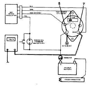 Delco Alternator External Regulator Wiring Diagram on starter generator wiring diagram