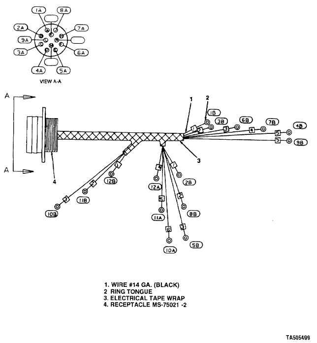 trailer box wiring harness